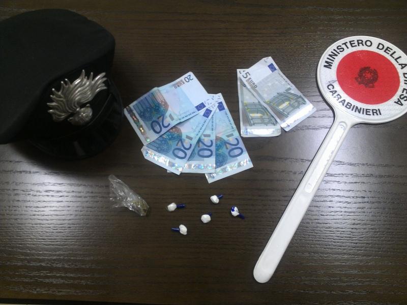 Un inseguimento sulla complanare a bordo di uno scooter e con tre grammi di cocaina