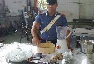 Droga nell'officina, un arresto ad Altamura